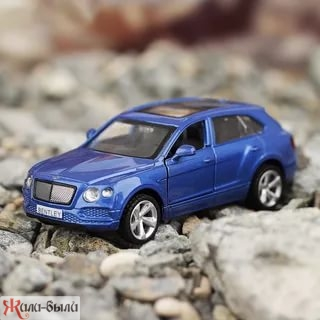 Машина мет. 1:45 Bentley Bentayga, откр.двери, цвета в ассорт.,12см